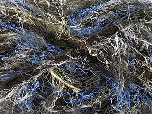 Fiberinnehåll 40% Polyamid, 30% Ull, 30% Akryl, Yellow, Brand ICE, Dark Brown, Blue, fnt2-64165