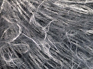 Fiber Content 100% Polyamide, White, Brand ICE, Grey, Yarn Thickness 4 Medium  Worsted, Afghan, Aran, fnt2-64205