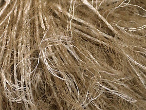 Fiber Content 100% Polyamide, White, Brand ICE, Camel, Yarn Thickness 4 Medium  Worsted, Afghan, Aran, fnt2-64206