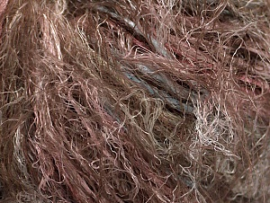 Fiber Content 100% Polyamide, Pink, Light Blue, Brand ICE, Brown, Yarn Thickness 4 Medium  Worsted, Afghan, Aran, fnt2-64208