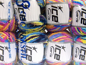 Fiber Content 100% Polyamide, Mixed Lot, Brand ICE, Yarn Thickness 3 Light  DK, Light, Worsted, fnt2-64230