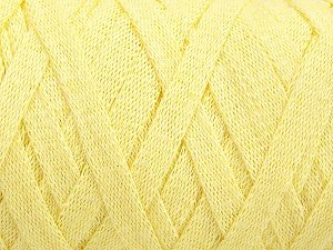 Fiber Content 100% Recycled Cotton, Light Yellow, Brand ICE, fnt2-64377