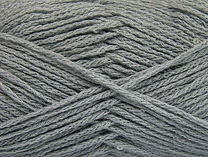 Fiber Content 98% Acrylic, 2% Paillette, Light Grey, Brand ICE, fnt2-64447