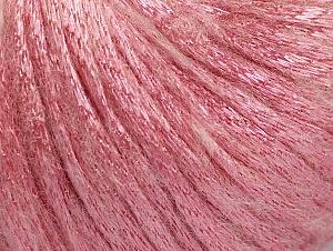 Fiber Content 70% Polyamide, 19% Merino Wool, 11% Acrylic, Light Pink, Brand ICE, fnt2-64462