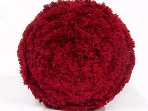 Fiberinnehåll 100% mikrofiber, Brand Ice Yarns, Burgundy, fnt2-64616
