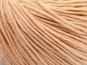 Fiber Content 50% Cotton, 50% Acrylic, Light Salmon, Brand Ice Yarns, fnt2-64635