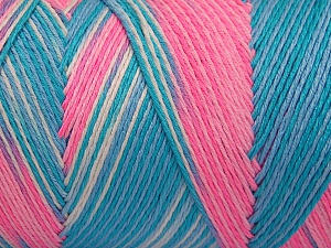 Fiber Content 100% Acrylic, Turquoise Shades, Pink Shades, Brand Ice Yarns, fnt2-64648