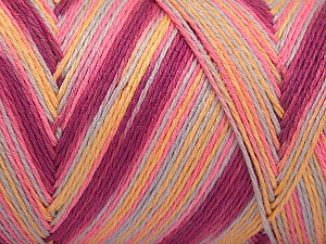 Fiber Content 100% Acrylic, Yellow, Pink, Orchid, Light Grey, Brand Ice Yarns, fnt2-64649