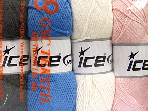 Fiber Content 52% Nylon, 48% Acrylic, Mixed Lot, Brand Ice Yarns, fnt2-64674