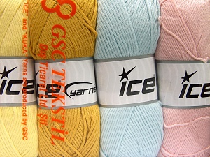 Fiber Content 52% Nylon, 48% Acrylic, Mixed Lot, Brand Ice Yarns, fnt2-64675