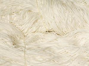 The yarn is in hanks. Fiber Content 50% Acrylic, 50% Cotton, Brand Ice Yarns, Ecru, fnt2-64679