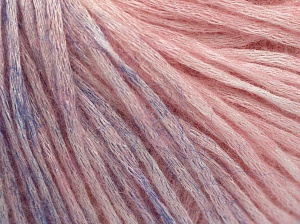 Modal is a type of yarn which is mixed with the silky type of fiber. It is derived from the beech trees. Fiber Content 74% Modal, 26% Wool, Light Pink, Light Lilac, Brand Ice Yarns, Yarn Thickness 3 Light  DK, Light, Worsted, fnt2-64812