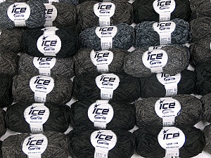 Thin Chenille This mixed lot includes a total of 2000 gr (70.5 oz.) yarn. There is no standard for ball weight. Also disregard any information on the labels. You will get what you see in the photo. Brand Ice Yarns, fnt2-64827