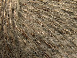 Fiber Content 60% Acrylic, 21% Polyester, 19% Alpaca, Light Camel, Brand Ice Yarns, Bronze, Black, fnt2-64919