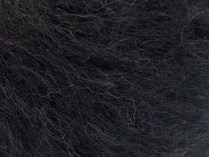 Fiber Content 40% Cotton, 20% Polyamide, 20% Acrylic, 20% Alpaca Superfine, Brand Ice Yarns, Black, fnt2-64989