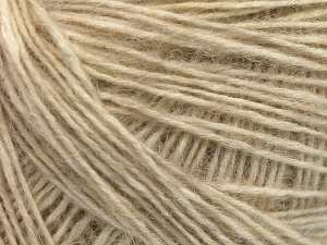 Fiber Content 56% Cotton, 22% Extrafine Merino Wool, 22% Baby Alpaca, Brand Ice Yarns, Cream, fnt2-65011