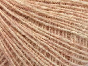 Fiber Content 56% Cotton, 22% Extrafine Merino Wool, 22% Baby Alpaca, Light Pink, Brand Ice Yarns, fnt2-65014