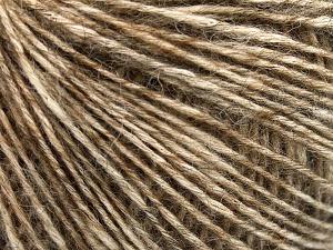 Περιεχόμενο ίνας 56% Βαμβάκι, 22% Μαλλί Μερίνο extraλεπτό, 22% Baby Αλπακά, Brand Ice Yarns, Caramel, fnt2-65020
