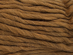 Fiber Content 100% Australian Wool, Light Brown, Brand Ice Yarns, Yarn Thickness 6 SuperBulky  Bulky, Roving, fnt2-65070