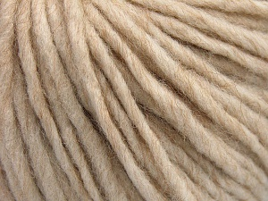 Fiber Content 50% Merino Wool, 25% Acrylic, 25% Alpaca, Light Beige, Brand Ice Yarns, fnt2-65074
