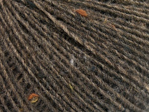 Fiber Content 50% Wool, 40% Acrylic, 10% Viscose, Brand Ice Yarns, Brown, fnt2-65090