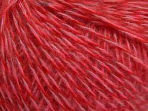 Vezelgehalte 85% Acryl, 15% Wol, Red, Pink, Brand Ice Yarns, fnt2-65097