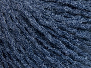 Fiber Content 50% Acrylic, 50% Wool, Jeans Blue, Brand Ice Yarns, fnt2-65112