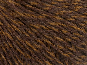 Vezelgehalte 85% Acryl, 15% Wol, Brand Ice Yarns, Brown Shades, fnt2-65129
