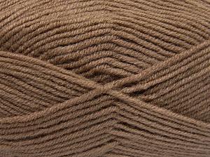 Fiber Content 50% Acrylic, 50% Wool, Brand Ice Yarns, Camel, fnt2-65186