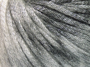 Fiber Content 70% Polyamide, 19% Merino Wool, 11% Acrylic, Brand Ice Yarns, Grey Shades, Black, fnt2-65211