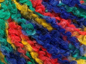 Fiber Content 55% Acrylic, 35% Wool, 10% Polyamide, Yellow, Orange, Navy, Brand Ice Yarns, Green, fnt2-65226