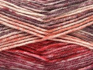 Fiber Content 50% Premium Acrylic, 50% Wool, Red, Maroon, Brand Ice Yarns, Cream, Burgundy, fnt2-65294