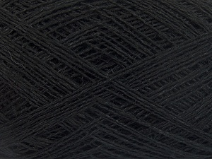 Fiber Content 60% Cotton, 40% Linen, Brand Ice Yarns, Black, fnt2-65335
