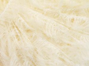 Wool  Fiber Content 45% Polyamide, 40% Wool, 15% Viscose, Brand Ice Yarns, Cream, fnt2-65346