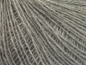 Fiber Content 35% Merino Wool, 35% Acrylic, 30% Baby Alpaca, Light Grey, Brand Ice Yarns, fnt2-65356