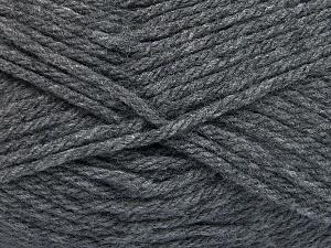 Fiber Content 100% Acrylic, Brand Ice Yarns, Dark Grey, fnt2-65373