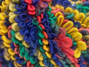 İçerik 50% Akrilik, 40% Yün, 10% Polyamid, Salmon, Purple, Brand Ice Yarns, Green, Gold, fnt2-65393