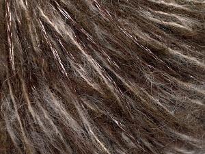 Περιεχόμενο ίνας 60% Ακρυλικό, 15% Μαλλί, 15% Αιγοκάμηλος αλπακά, 10% Βισκόζη, Brand Ice Yarns, Brown Shades, fnt2-65475