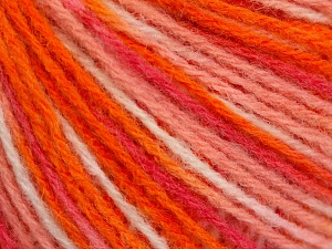 Wool Light Orange Shades