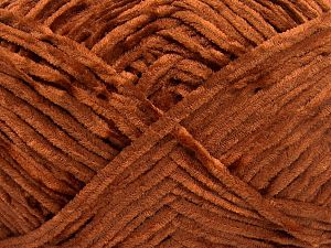 Fiber Content 100% Micro Fiber, Brand Ice Yarns, Caramel, Yarn Thickness 3 Light  DK, Light, Worsted, fnt2-65519