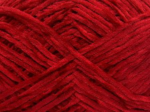 İçerik 100% Mikro Fiber, Red, Brand Ice Yarns, Yarn Thickness 3 Light  DK, Light, Worsted, fnt2-65525