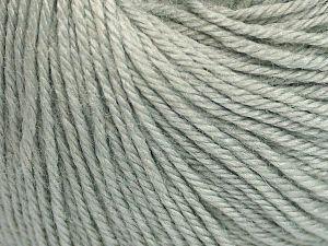 Fiber Content 40% Merino Wool, 40% Acrylic, 20% Polyamide, Light Grey, Brand Ice Yarns, Yarn Thickness 2 Fine  Sport, Baby, fnt2-65566