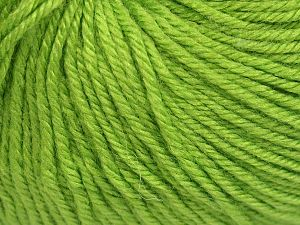Fiber Content 40% Acrylic, 40% Merino Wool, 20% Polyamide, Light Green, Brand Ice Yarns, Yarn Thickness 2 Fine  Sport, Baby, fnt2-65577
