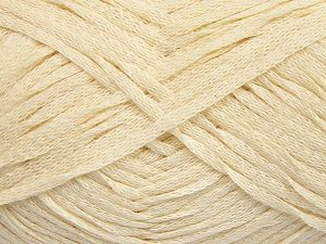 Fiber Content 100% Cotton, Brand Ice Yarns, Cream, Yarn Thickness 3 Light  DK, Light, Worsted, fnt2-65592