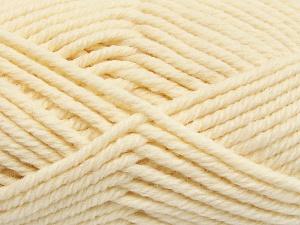 Fiber Content 50% Wool, 50% Acrylic, Brand Ice Yarns, Cream, fnt2-65604