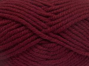 Fiber Content 50% Wool, 50% Acrylic, Brand Ice Yarns, Burgundy, fnt2-65619
