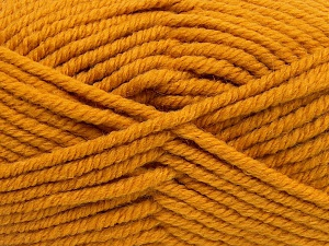 Fiber Content 50% Wool, 50% Acrylic, Brand Ice Yarns, Gold, fnt2-65630