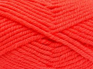 Fiber Content 50% Wool, 50% Acrylic, Brand Ice Yarns, Dark Salmon, fnt2-65631