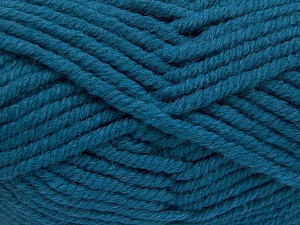 Fiber Content 50% Wool, 50% Acrylic, Turquoise, Brand Ice Yarns, fnt2-65636