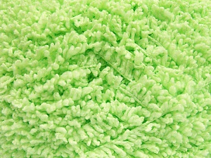 Fiber Content 100% Micro Polyester, Light Green, Brand Ice Yarns, Yarn Thickness 5 Bulky  Chunky, Craft, Rug, fnt2-65664